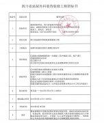 四川省泌尿外科医院装饰装修工程招标