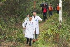 川泌为您保驾护航 医疗助力华川集团2020年徒步越野挑战赛