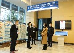 邛崃市副市长杨敏考察四川泌尿外科医院